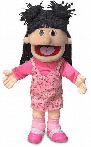 14 Susie Peach Girl Hand Puppet