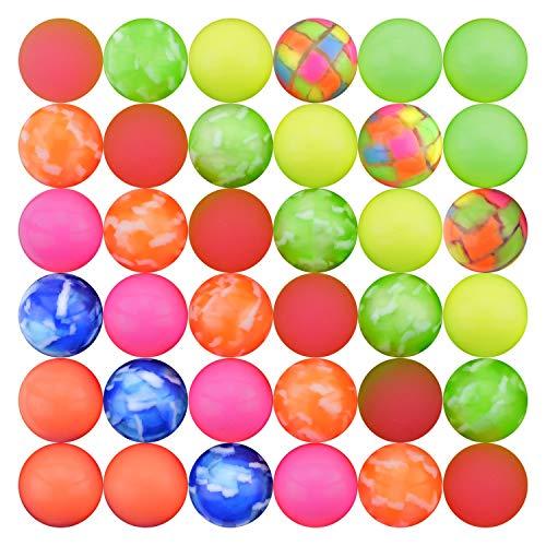 Entervending Bouncy Balls Small Super Bouncing Balls for Toy Vending Machine 300 pcs 25mm