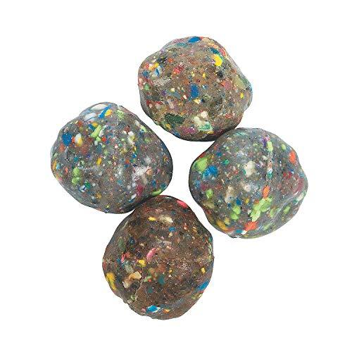 Fun Express Small Rock Bouncing Balls 1 Dozen 15 Toys Balls Bouncing Balls Party Favors