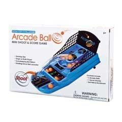 Mini Shoot Score Game with 6 Arcade Balls Swivel Shooter Ball Nets Backboard
