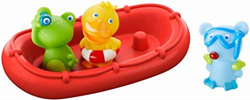 HABA Bath Boat Animal Crew ahoy  Bath Toys for Toddlers  303866