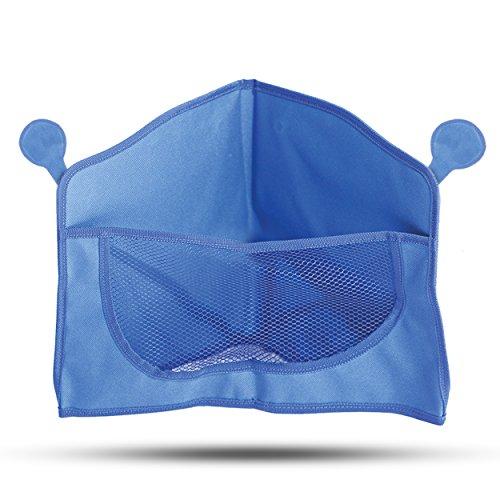 BULA BABY Corner Bath Toy Organizer - 3-Sided Design Allows Easy Access