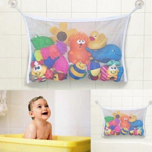 Blue Ocean Baby Bath Hanging Toy Organizer Storage Bag