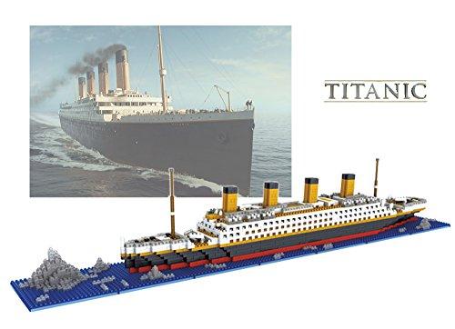 The Titanic Model Micro Block Build Set - NanoBlocks Micro Diamond DIY Educational Toys