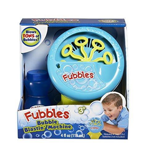 Little Kids Fubbles Bubble Machine Novelty Blue