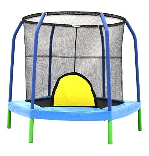 Bazoongi 75 Hexagonal Kids Combo Trampoline Enclosure