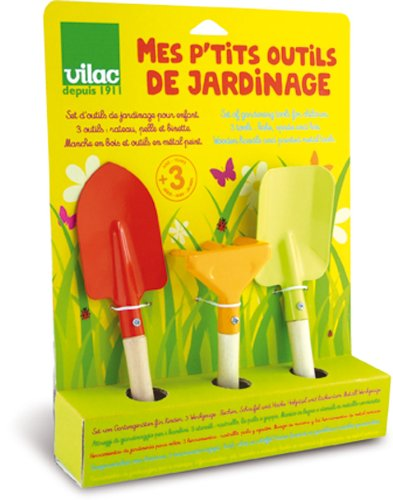 Vilac 3 Piece Gardening Tools