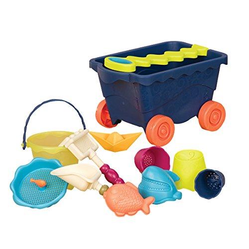 B Toys Wavy Wagon Beach Set