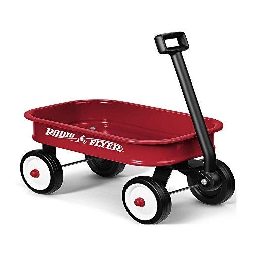 Radio Flyer Little Red Toy Wagon Kids Gift Present Boy Girl Fun Steel Hauling by Radio Flyer