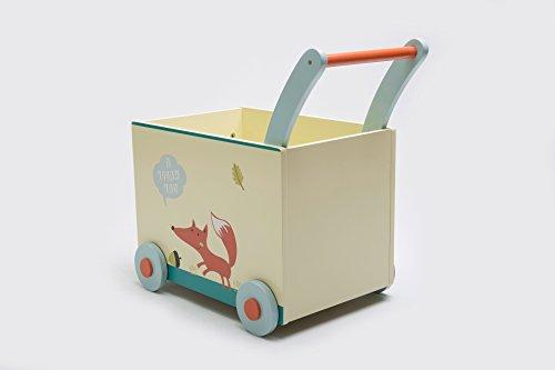 Labebe Toy Box Toddler Activity Walker Push