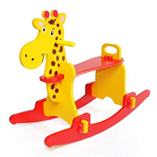 XSWZAQ Child Rocking Horse Wooden Rocking Horse Toy Rocking Horse for Kid 1-3 Years Baby Rocking Horse SetKid Rocking Horse ChairOutdoor Rocking HorseRockerAnimal RideRocking Toy