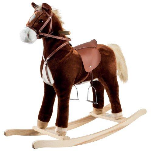 Happy Trails Plush Rocking Horse by Happy Trails