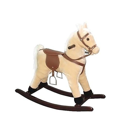 Small Plush Rocking Horse Color Palomino