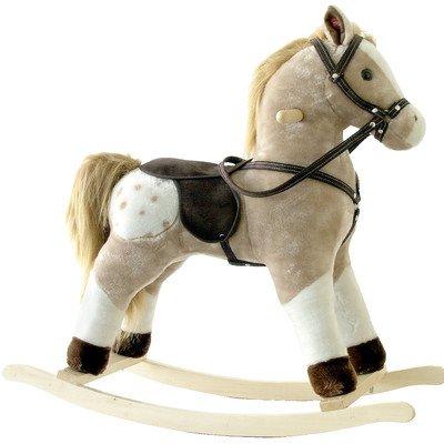 Small Plush Rocking Horse Color Pinto