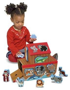 Noahs Ark Shape Sorter Toy - Child