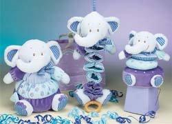 Princess Soft Toys Elephant Stacker Toy