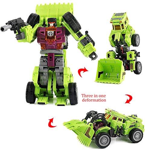 ANNONGONE 3 Modes Robot to Bulldozer Toys