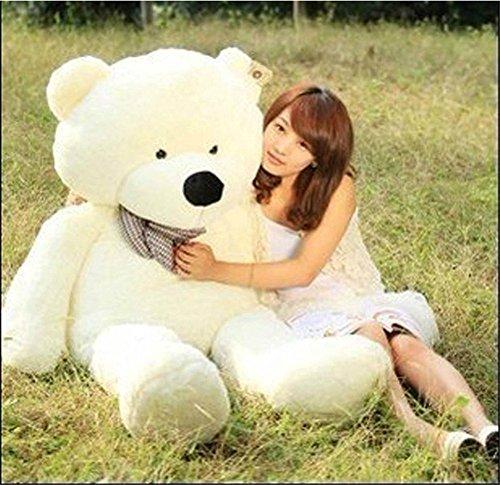 MorisMos Stuffed Animal Teddy Bear Toy Doll White 16m 63inch