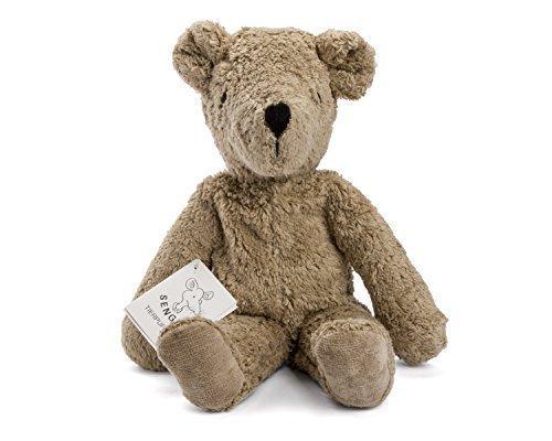 Senger Stuffed Animals - Teddy Bear - Handmade 100 Organic Toy Beige - 12 Inches Tall