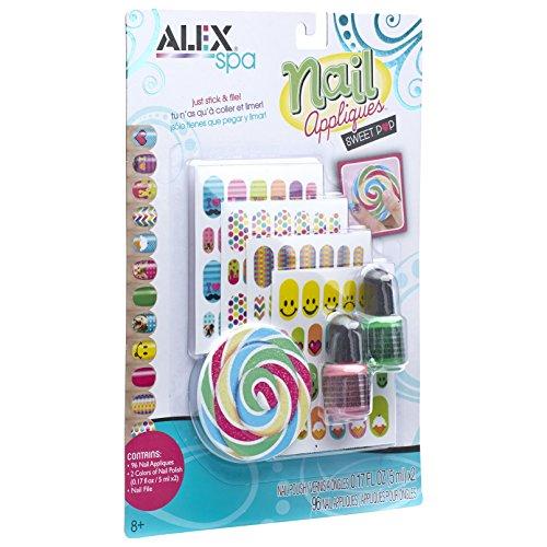 ALEX Spa Nail Appliques Sweet Pop