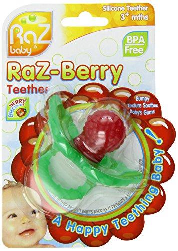 Razbaby RaZ-berry Teether Red