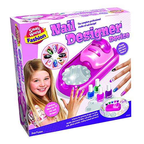 Small World Toys Fashion - Nail Designer Device Makeup Kit