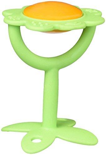 Innobaby SMART Massaging Teether - Green Flower by Innobaby