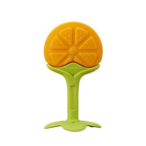 Innobaby Teethin Smart Ez Grip Massaging Teether Citrus by Innobaby