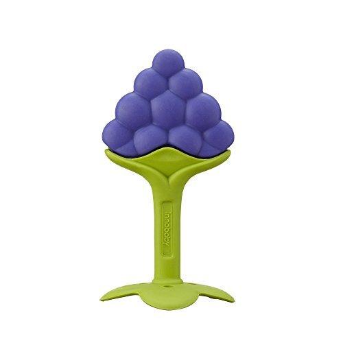 Innobaby Teethin Smart Ez Grip Massaging Teether Grape by Innobaby