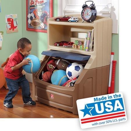 Step2 Lift Hide Bookcase Storage Chest Best Kids Toy Box