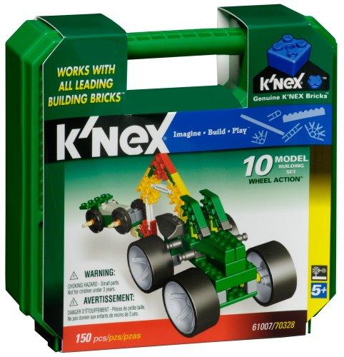 Knex Wheel Action 10 Model Building Set- 154 pcs