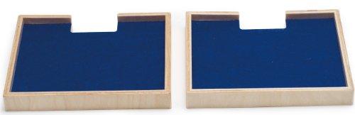 Hape - Quadrilla - Wooden Marble Run Catcher Trays Add-on