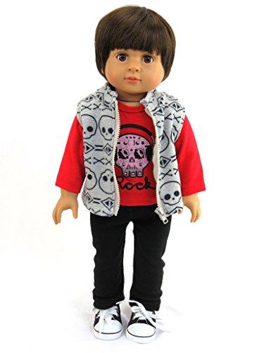 18 Inch Boy Doll Friend for American Girl Doll Our Generation Journey Girl Dolls