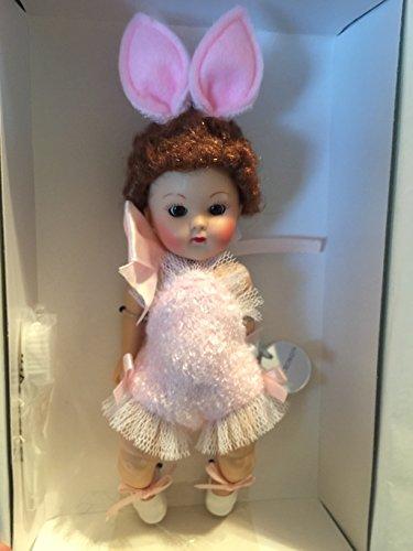 Beautiful Vogue Ginny Doll Crib Crowd Bunny Pink