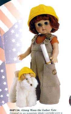 Vogue Ginny Dolls - Ginny Woos The Labor Vote