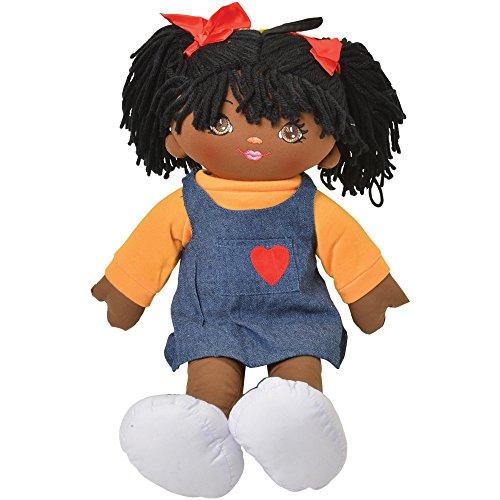 18 Multicultural African American Girl Preschool Pal Rag Doll
