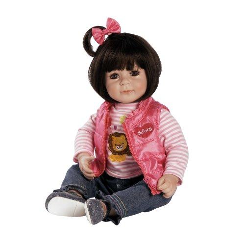 Adora Lion Love Dark Brown Hair with Brown Eyes 20 Baby Doll