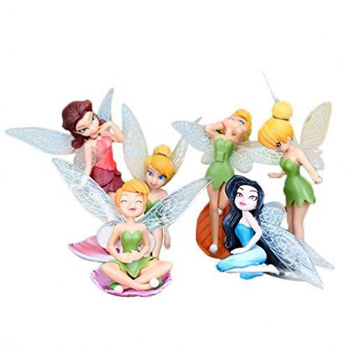 PCS Miniature Flower Fairy Girls Dollhouse Funiture Accessories by SmileyEU