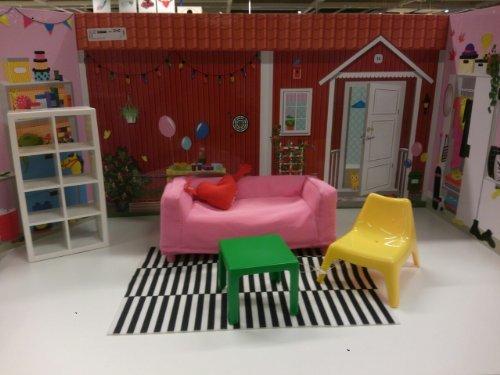 IKEA HUSET  SPEXA dollhouse set 0025797230235511
