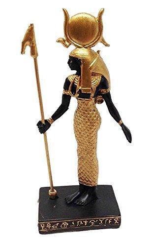 EGYPTIAN GODDESS OF MOTHERHOOD HATHOR STATUE SMALL DOLL HOUSE MINIATURE 3 by Gifts Decor
