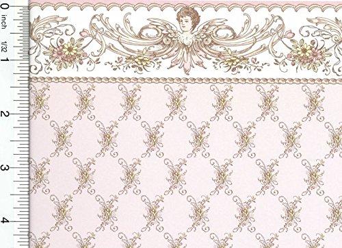 Dollhouse Wallpaper Edwardian St Elizabeth - Pink