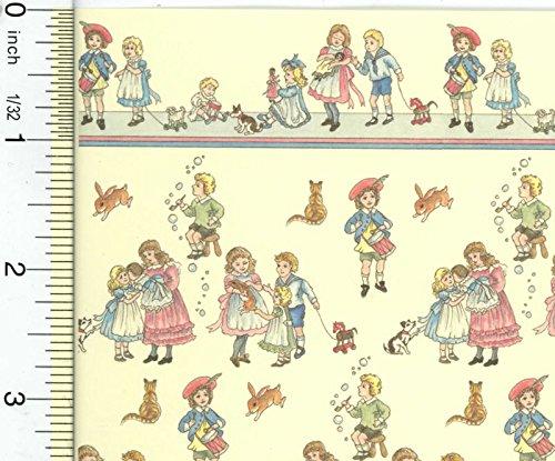 Dollhouse Wallpaper Victorian Creme Children039s Nursery