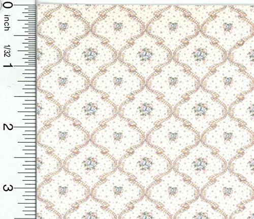 Dollhouse Wallpaper Fleur D039Amour Pink