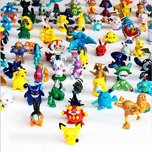 POKEMON Complete Set Pokemon Action Figures 144 Pieces