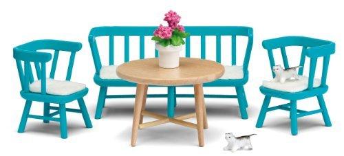 Lundby Smaland Dollhouse Kitchen Furniture Set by Lundby
