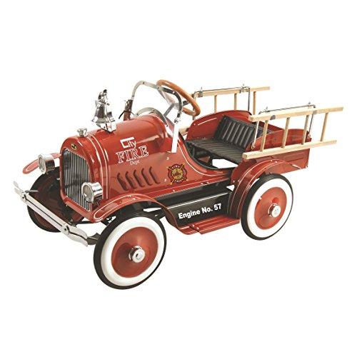 Dexton Deluxe Fire Truck Pedal Car