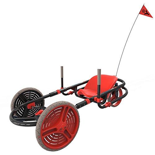 YBIKE Explorer Pedal Car RedBlack