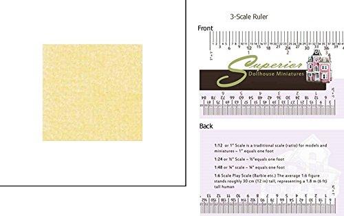 Dollhouse Carpet Butter 14 X 20