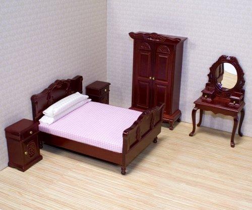 Melissa Doug Dollhouse Bedroom Furniture