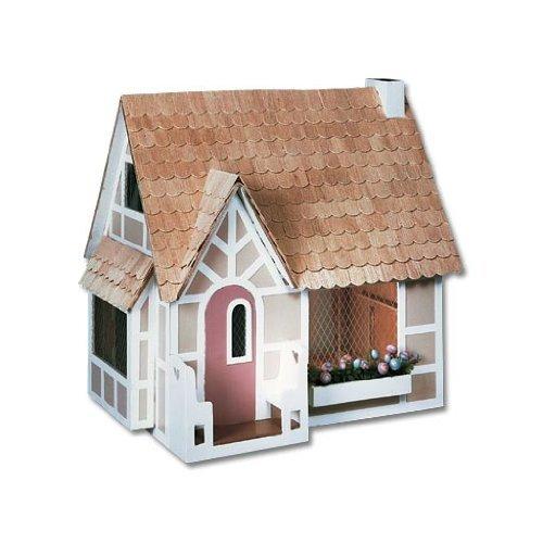 Dollhouse Miniature The Sugarplum Cottage Dollhouse by Greenleaf by CoronaGreenleaf Steel Rule Di